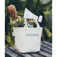 Chill Out Design キャンバストートバッグS