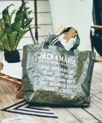 JACK  &  MARIE  フリートートバッグ