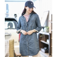 Johnbull CLASSIC  SHIRT  DRESS  クラシックシャツドレス  Women's