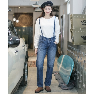 【Johnbull】 SUSPENDER WORK PANTS サスペンダーワークパンツ Women's