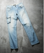 Johnbull カーゴJEANS 016 BREACH DENIM メンズ S