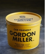 GORDON MILLER ペール缶 収納型スツール 12L(4Colors)(OLIVE DRAB,GRAY,YELLOW,BLUE)