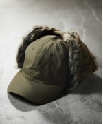 JACK  &  MARIE  BOMBER  CAP(SOLID)  ボンバーキャップ