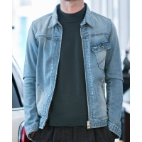 【Johnbull】 DENIM WORK BLOUSON デニムワークブルゾン Unisex