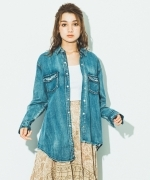 ONETEASPOON  CAPTAIN  BLUE  デニムシャツ  Women's