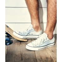 【CONVERSE/コンバース】 ALL STAR WORNOUT DENIM SLIP OX デニムスニーカー BL