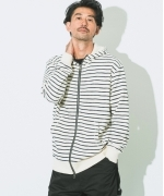 Johnbull  パイルフーディー  FULLZIP  WH  Men's