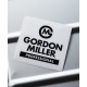 GORDON  MILLER  CUTTING  ステッカー  75×75