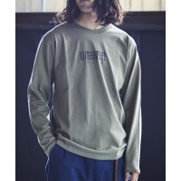 UNIVERSAL  OVERALL×JACK  &  MARIE  L/S  Tシャツ  OD  Unisex