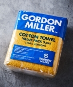 GORDON  MILLER  COTTON  タオル  5PCS