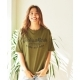 SIMON PERINI × JACK & MARIE TYPOGRAPHY T-SHIRT (OLIVE DRAB)(サイモン・ペリー二 ×...
