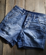 ONETEASPOON  DENIM  ショートパンツ  BLUE  Women's
