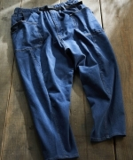 GRIP  SWANY  JOG  3D  WIDE  CAMP  PANTS  パンツ  LIGHT  INDIGO  Unisex