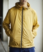KELTY PACKABLE BLOUSON(2Colors)(BLACK、MUSTARD)(ケルティ パッカブルブルゾン)(Unisex)
