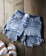 ONETEASPOON 21357SALTYDOG BONITA HIGHWAIST DENIM SHORT