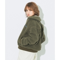 WILD THINGS FLUFFY BOA G-1 (2Colors)(NATURAL/OLIVE)(ワイルドシングス フラッフィ ...