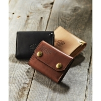 The Superior Labor × GORDON MILLER LEATHER COMPACT WALLET(3colors)(シュペリオー...