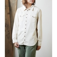 ONETEASPOON NEW VINTAGE DENIM SHIRT(NASHVILLE CREAM)(ワンティースプーン ニュー ...