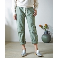 ONETEASPOON SAFARI HIGH WAIST STRAIGHT LEG JEAN(KHAKI)(ワンティースプーン サファ...
