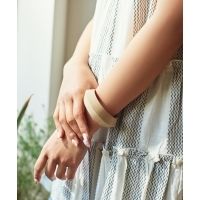 ELK LANNA Mid Bangle(3Colors)(エルク LANNAミッドバングル)(IVORY,BROWN ,GREEN)(B0...