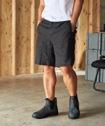 COWDEN LINEN SHORT PANTS(2Colors)(カウデン リネン ショートパンツ)(Men's)(BEIGE,BLACK)(CD-1C-BM-005)