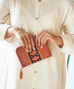 LOKOA SELALU CLUTCH BAG(2Colors)(ロコア SELALU クラッチバッグ)(CAMEL,HONEY)(LOKOA-024)