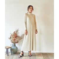 Marie Miller WIDE RIB DRESS(3Colors)(マリーミラー ワイドリブドレス)(Women's)(OFF...