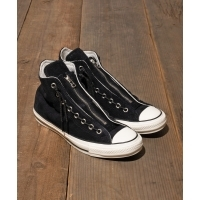 CONVERSE SUEDE ALL STAR 100 CENTERZIP HI(BLACK)(コンバース スエード オールスター...