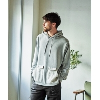 GORDON MILLER POLICOTTO MULTI POCKET HOODIE (2Colors)(ゴードンミラー ポリコット ...