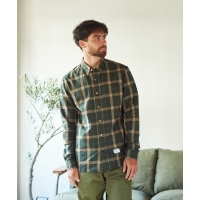 GORDON MILLER British check Button Down shirt(3Colors)(ゴードンミラー ブリティッ...