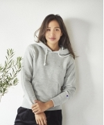 Champion ZIP HOODED SWEATSHIRT(4Colors)(チャンピオン スウエットシャツ)(Women's)(OFF WHITE,GRAY,BLACK,NAVY)(CW-Q102)