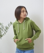 Champion RW P/O HOODED SWEATSHIRT(5Colors)(チャンピオン フーディースウエットシャツ)(Women's)(WHITE,GRAY,BLACK,OLIVE,BROWN)(CW-P101)