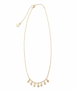TEMPLE OF THE SUN RAINE NECKLACE(GOLD)(テンプルオブザサン ネックレス)(Women's)(TS493N-GVCBPL)