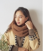 HIGHLAND 2000 TWISTED NECKWARMER(3Colors)(ハイランドトゥーサウザンド ネックウォーマー)(Women's)(ARAN,DK.CHARCOAL,BROWN(別注))(AW18-34)