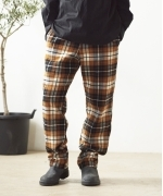 Battenwear Active Lazy Pants(CHESTNUT PLAID)(バテンウエア アクティブレイジーパンツ)(Men's)(FW20403B)