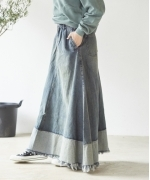ONETEASPOON MEMPHIS MAVERICK LONG SKIRT(MEMPHIS)(ワンティースプーン ロングスカート)(Women's)(23465)
